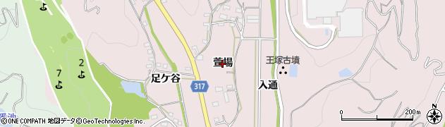 愛知県西尾市鳥羽町(萱場)周辺の地図
