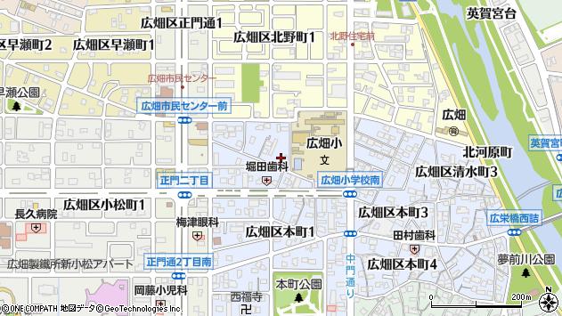 〒671-1113 兵庫県姫路市広畑区清水町の地図