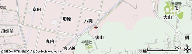 愛知県西尾市吉良町饗庭(庚申)周辺の地図