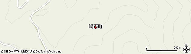 島根県浜田市鍋石町周辺の地図
