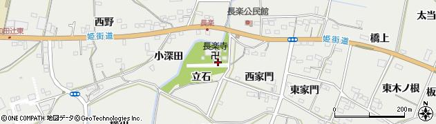 愛知県豊橋市石巻本町(立石)周辺の地図