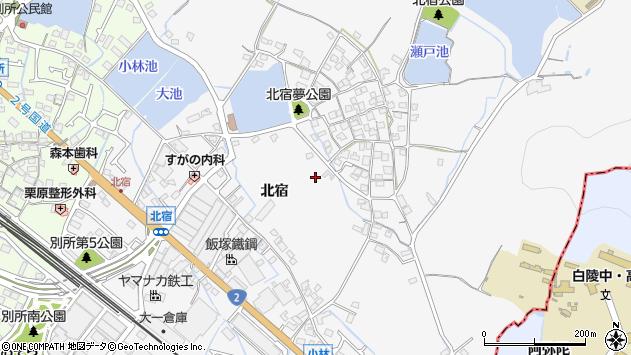 〒671-0223 兵庫県姫路市別所町北宿の地図