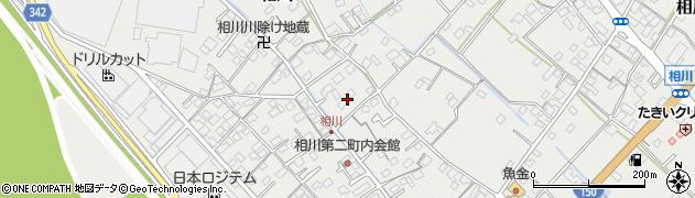 静岡県焼津市相川周辺の地図
