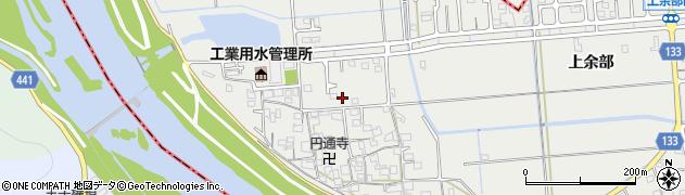 兵庫県姫路市余部区(上川原)周辺の地図