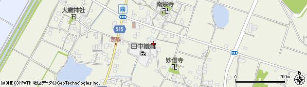 兵庫県加古川市西神吉町(鼎)周辺の地図