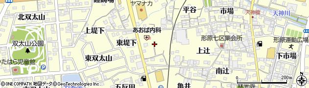 愛知県蒲郡市形原町(計後家)周辺の地図