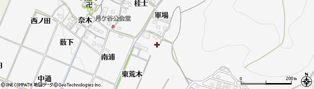 愛知県豊橋市嵩山町(東荒木)周辺の地図