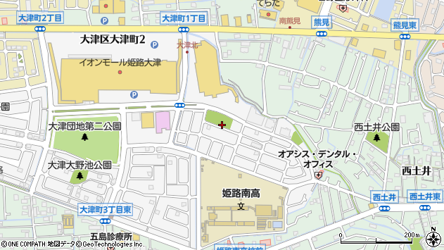 〒671-1146 兵庫県姫路市大津区大津町の地図
