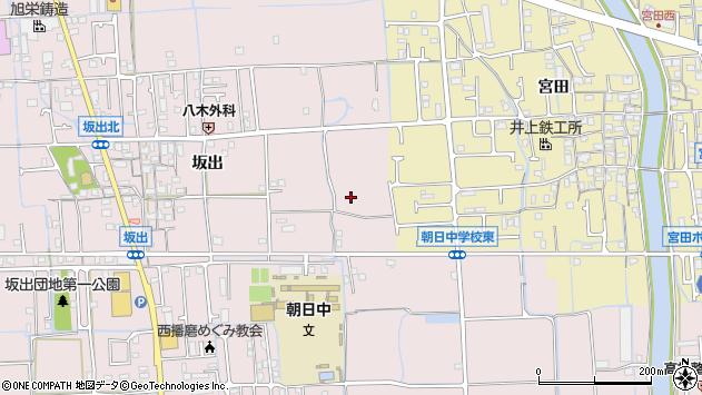 〒671-1228 兵庫県姫路市網干区坂出の地図