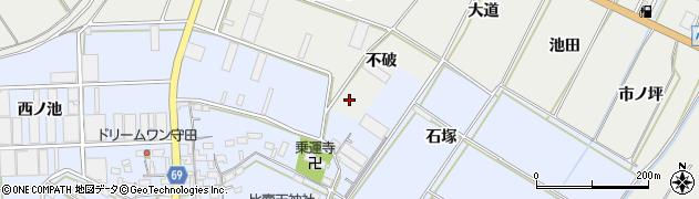 愛知県豊橋市石巻本町(不破)周辺の地図