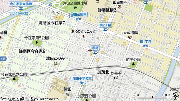 〒672-8072 兵庫県姫路市飾磨区蓼野町の地図
