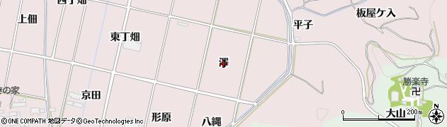 愛知県西尾市吉良町饗庭(澤)周辺の地図