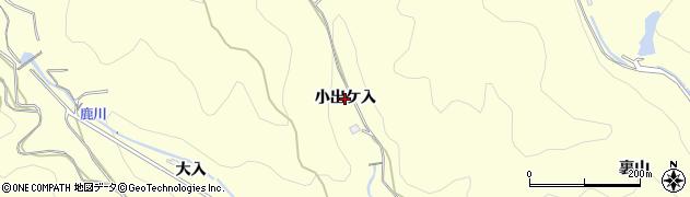 愛知県西尾市東幡豆町(小出ケ入)周辺の地図