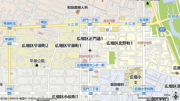 〒671-1116 兵庫県姫路市広畑区正門通の地図