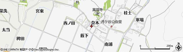 愛知県豊橋市嵩山町(薮下)周辺の地図