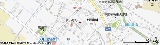 静岡県焼津市宗高周辺の地図