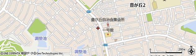 三重県津市豊が丘周辺の地図