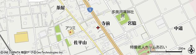 愛知県豊川市宿町(寺前)周辺の地図
