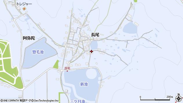 〒676-0821 兵庫県高砂市阿弥陀町長尾の地図