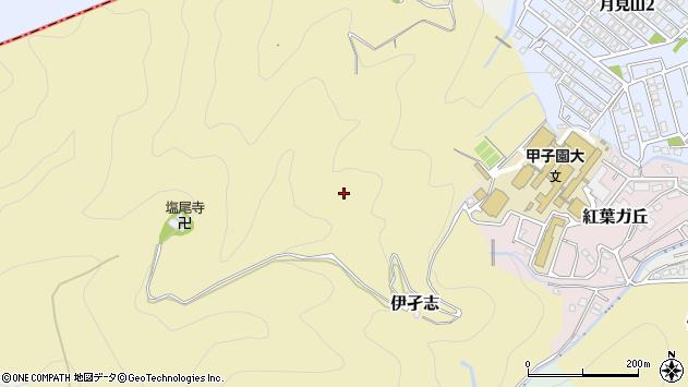 〒665-0007 兵庫県宝塚市伊孑志武庫山の地図