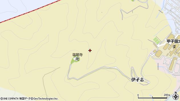 〒665-0033 兵庫県宝塚市伊孑志の地図