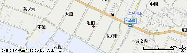 愛知県豊橋市石巻本町(池田)周辺の地図