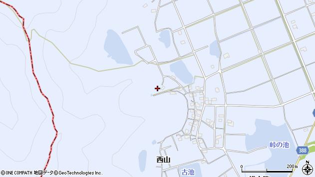 〒675-0333 兵庫県加古川市志方町西山の地図