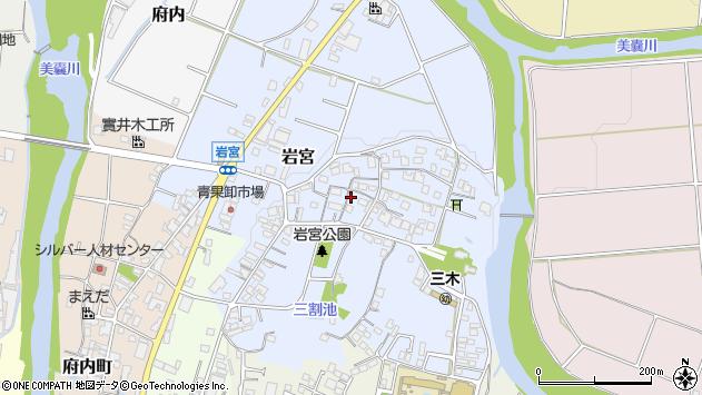 〒673-0412 兵庫県三木市岩宮の地図