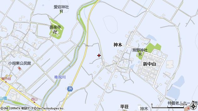 〒675-1222 兵庫県加古川市平荘町神木の地図