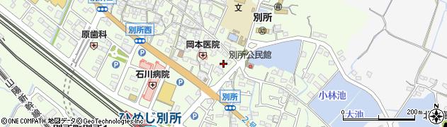 兵庫県姫路市別所町別所周辺の地図