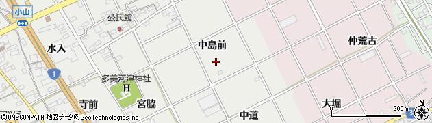 愛知県豊川市宿町(中島前)周辺の地図
