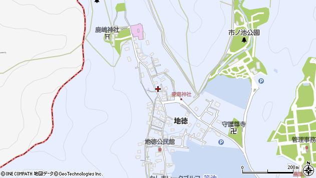 〒676-0828 兵庫県高砂市阿弥陀町地徳の地図