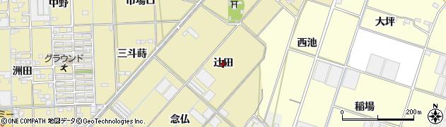 愛知県西尾市一色町対米(辻田)周辺の地図