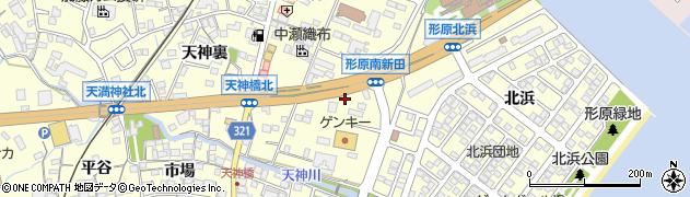 桂周辺の地図