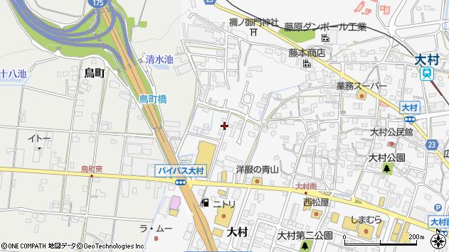 〒673-0404 兵庫県三木市大村の地図