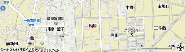 愛知県西尾市一色町対米(船原)周辺の地図