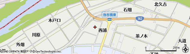 愛知県豊橋市石巻本町(西浦)周辺の地図