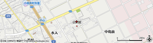 愛知県豊川市宿町(中島)周辺の地図