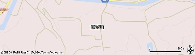 広島県庄原市実留町周辺の地図