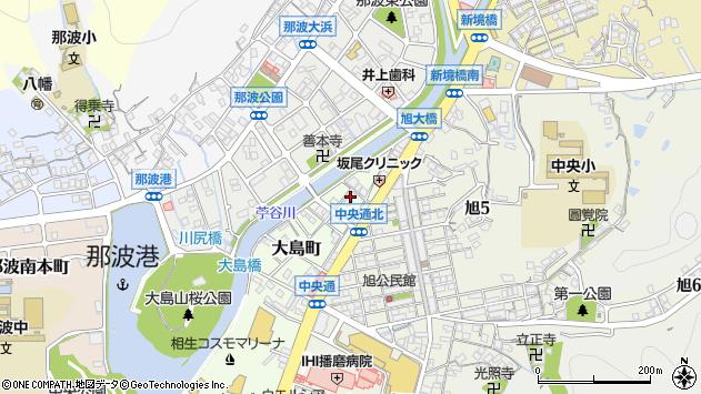 〒678-0052 兵庫県相生市大島町の地図