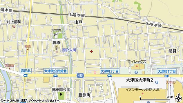 〒671-1214 兵庫県姫路市勝原区山戸の地図