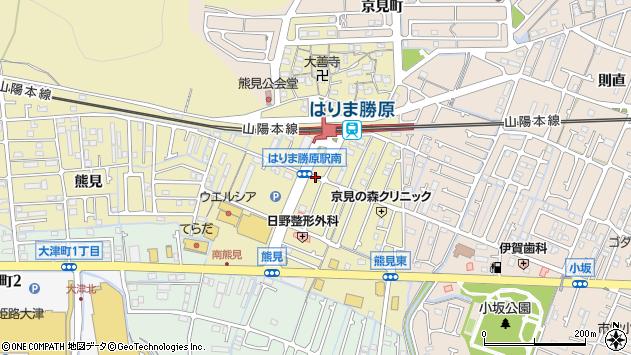 〒671-1211 兵庫県姫路市勝原区熊見の地図