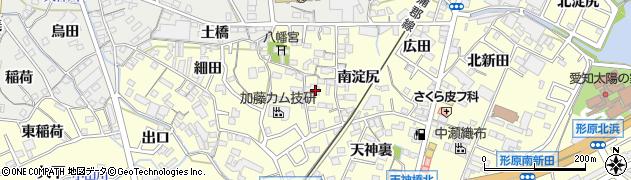 愛知県蒲郡市形原町(前野)周辺の地図