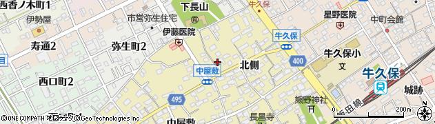 徳宝院周辺の地図