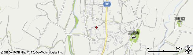 静岡県浜松市北区三ヶ日町大谷周辺の地図