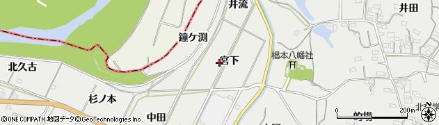 愛知県豊橋市石巻本町(宮下)周辺の地図