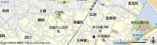 愛知県蒲郡市形原町(南淀尻)周辺の地図