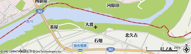 愛知県豊橋市石巻本町(大渡)周辺の地図