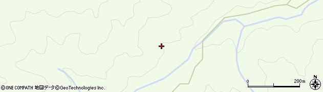 島根県浜田市旭町坂本(八ツ木)周辺の地図