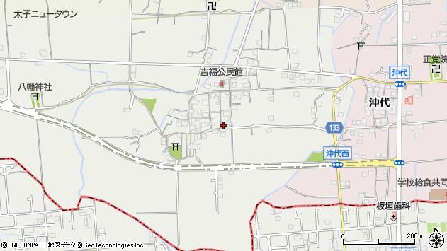 〒671-1544 兵庫県揖保郡太子町吉福の地図